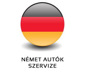 NÉMET AUTÓK SZERVIZE